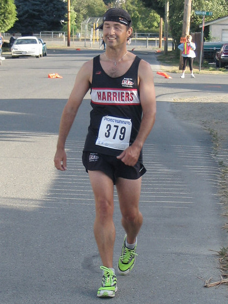 2005 Run Cowichan 10K - Gord Christie - 2:14 marathoner