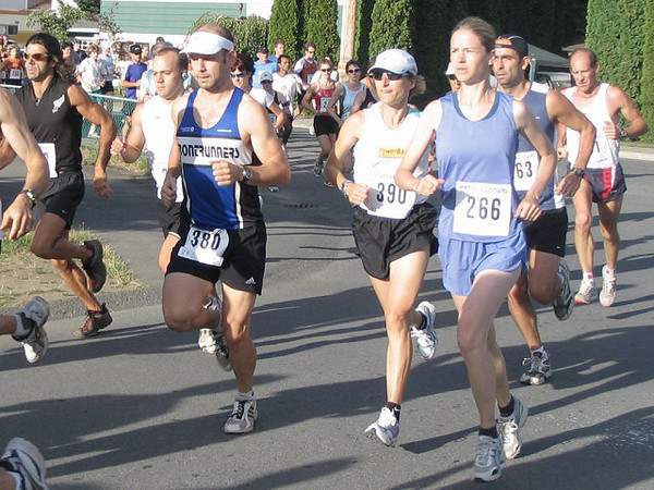 2005 Run Cowichan 10K - Liz Jones - now a 'real' master