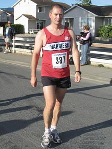 2005 Run Cowichan 10K - Art B. - 2:11 marathoner
