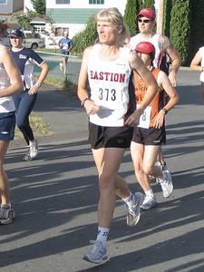 2005 Run Cowichan 10K - Lonergan second