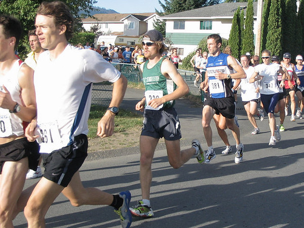 2005 Run Cowichan 10K - Kim House of Thunder Bay - a 'junior' master