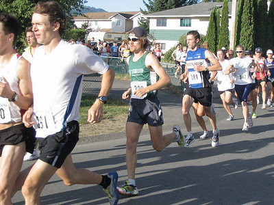 2005 Run Cowichan 10K - Kim House of Thunder Bay - a 'junior' master