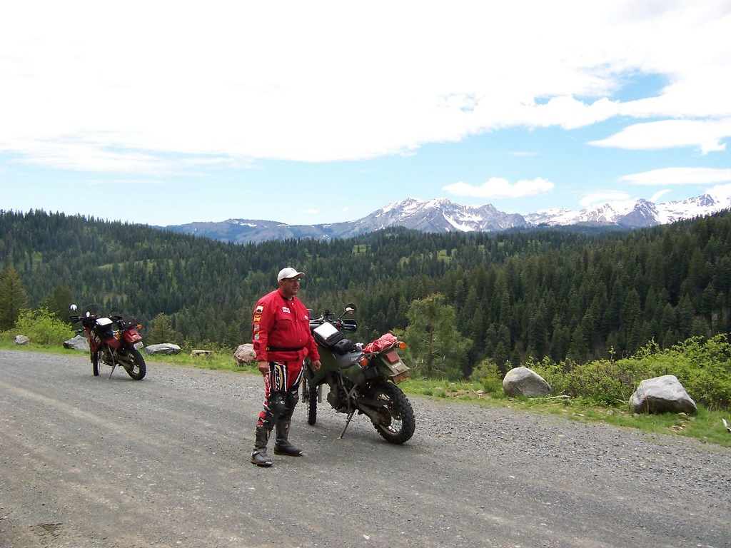 Dave & the Wallowa Mountains