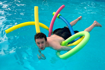 Adam in the Pool
