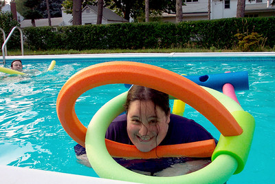 Joelle in the Pool