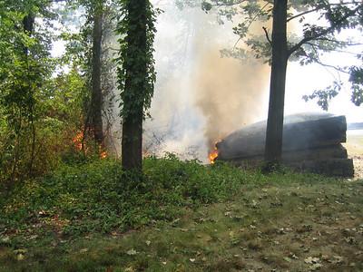 8-12 Fort Lee Historical Park Brush Fire