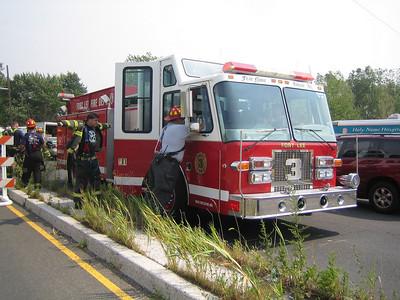 8-5 Teaneck 3rd Alarm Brush Fire