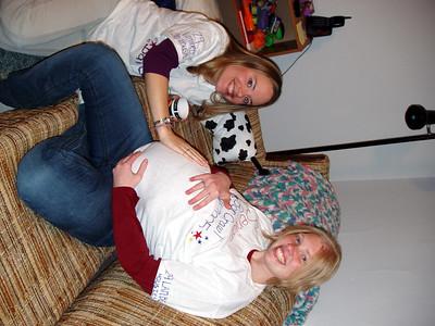 Cathy + Pregnant Rachel