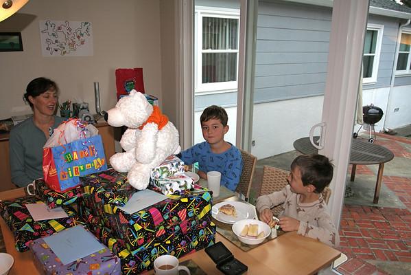 Adam's Eighth Birthday