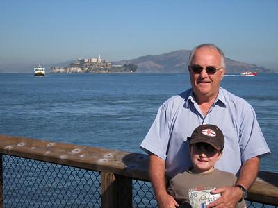 Alcatraz With Matthew and Grandpops