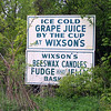 Lying Sign for Wixson's