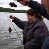 Haha! Take that fish! Gotcha!