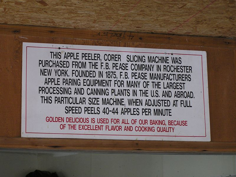 This apple peeler corer is a lot different than mine.