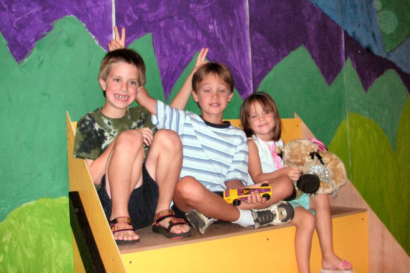 Jacob and friends, Cub Scout Overnight