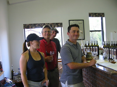 Balistreri Vinyards in Early July 2005