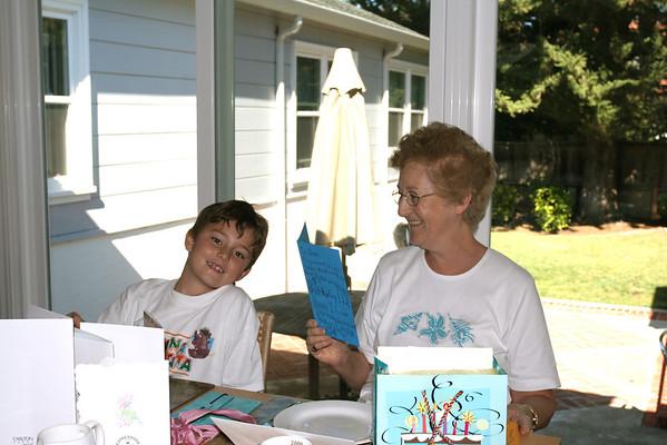 Celebrating Nana's Birthday