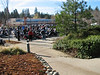 Toy Run that started at the Nevada City Police and prison.  There were lots of bikes.