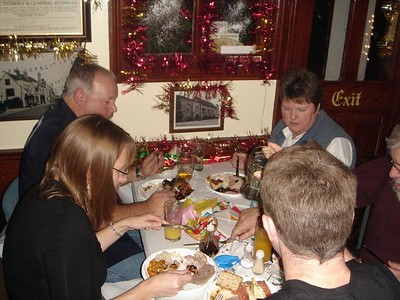 Crown Xmas Buffet 2005