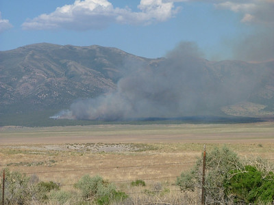 Fire in Skull Valley
