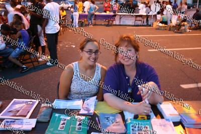 Kristin Cafiero and Ruth Bowles