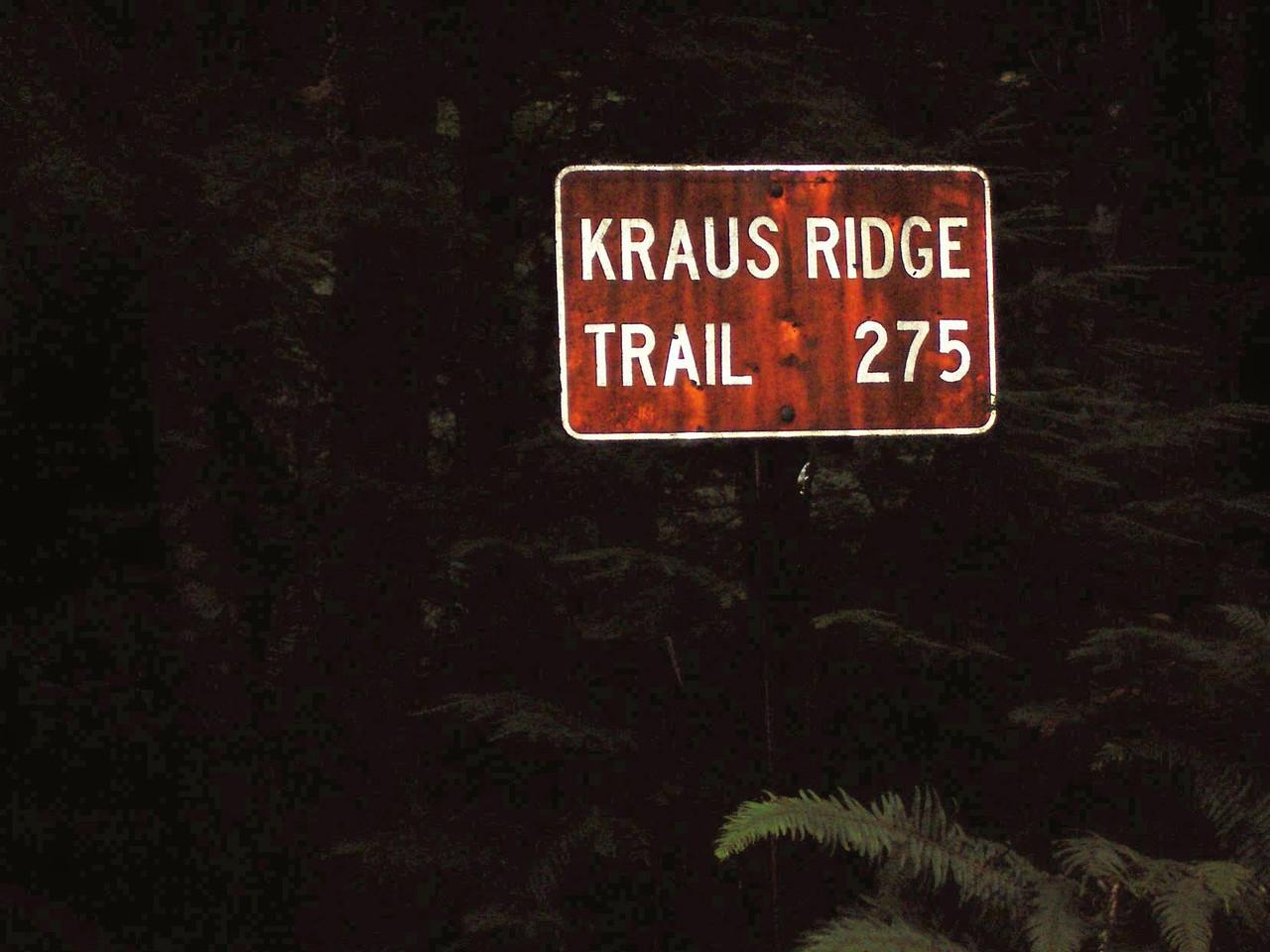 This was a good trail, easy & fun.