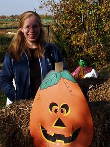 Katie and Pumpkin