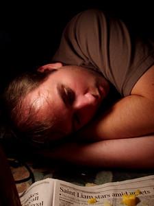 Matt Gets Sleepy