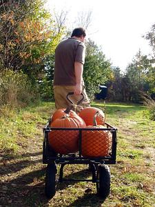 Matt with Wagon