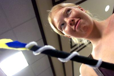 Rachel and her wand