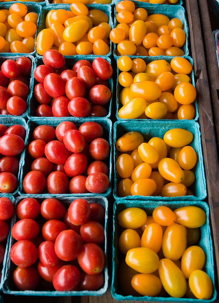 Cherry tomatoes at the farm stand