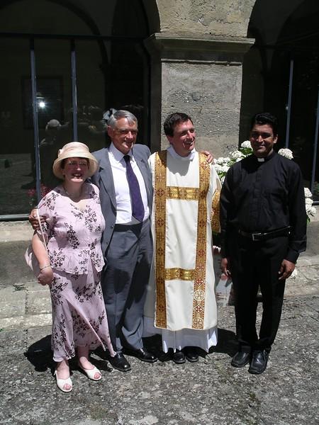 With Fr Sebastian