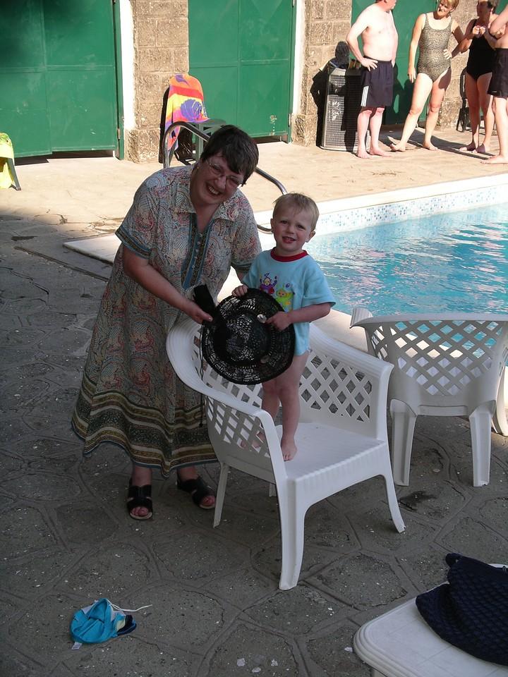 Francis and his Grandma