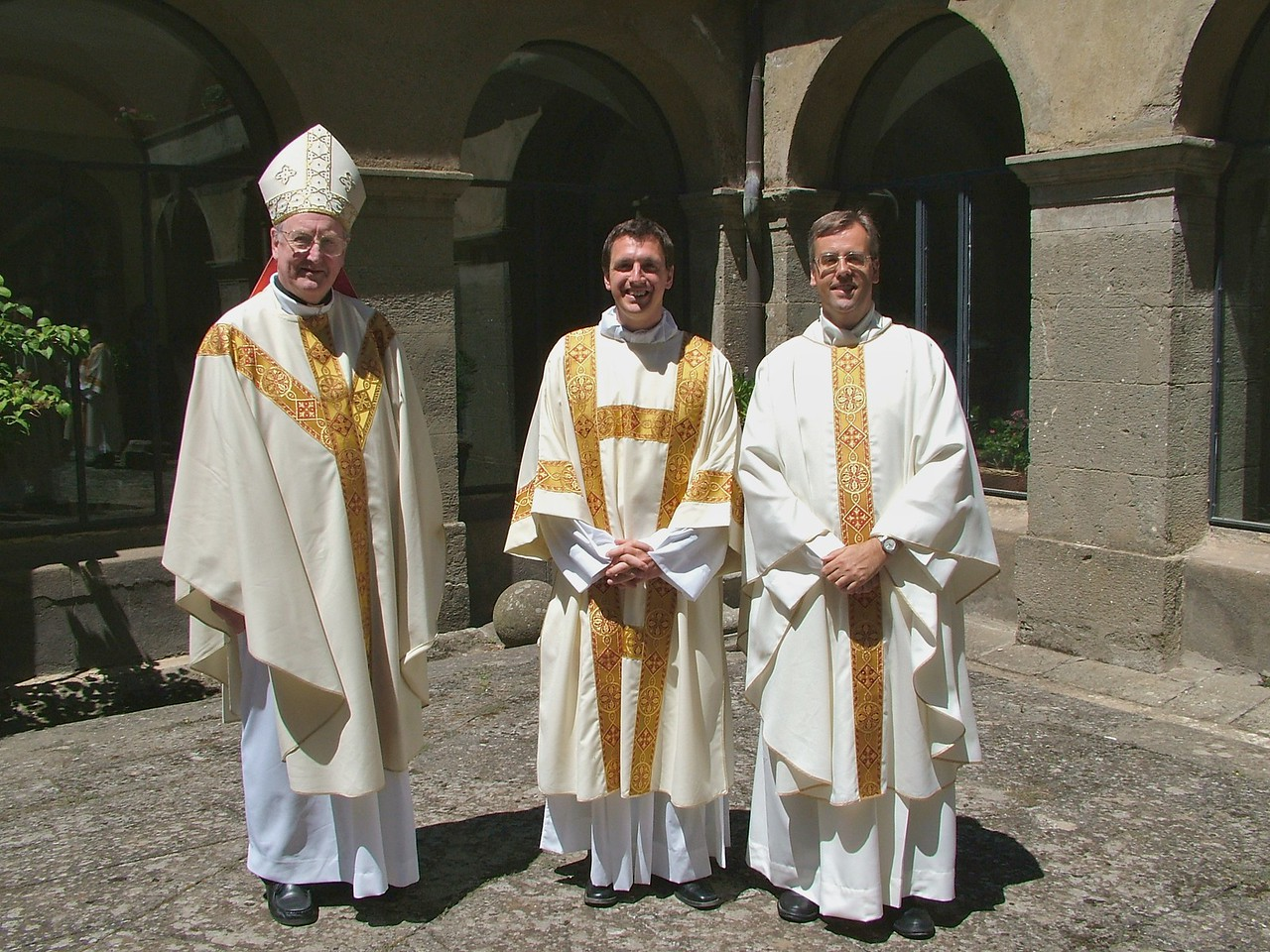 Bishop Brain, John and the Rector
