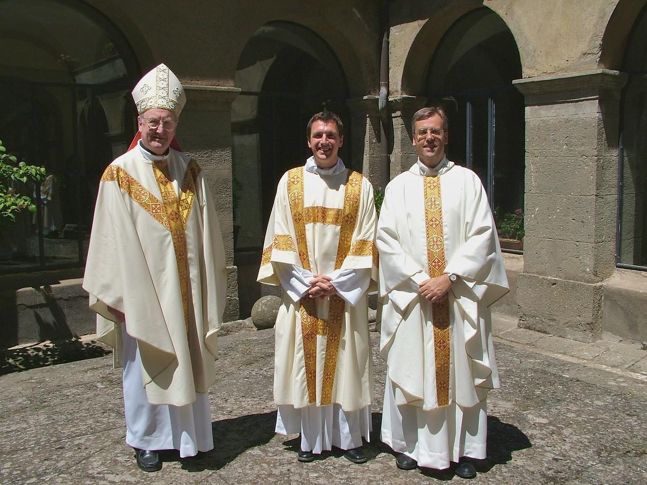 Bishop Brain, John and the Rector
