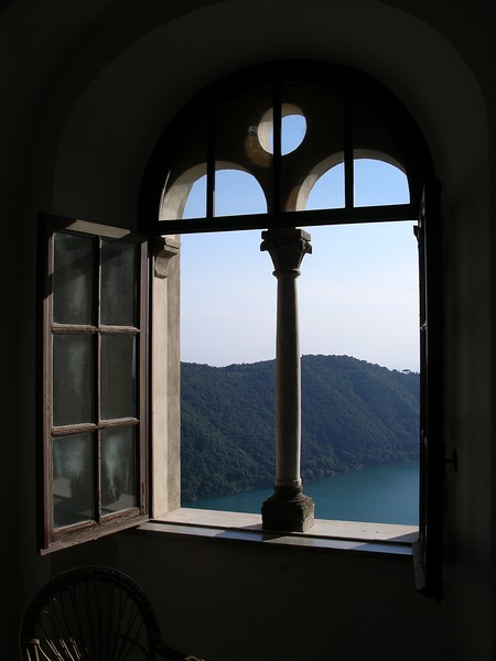 Top corridor—looking onto the lake
