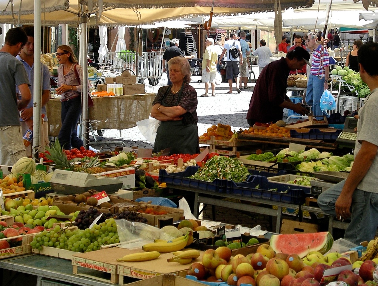 Roman market