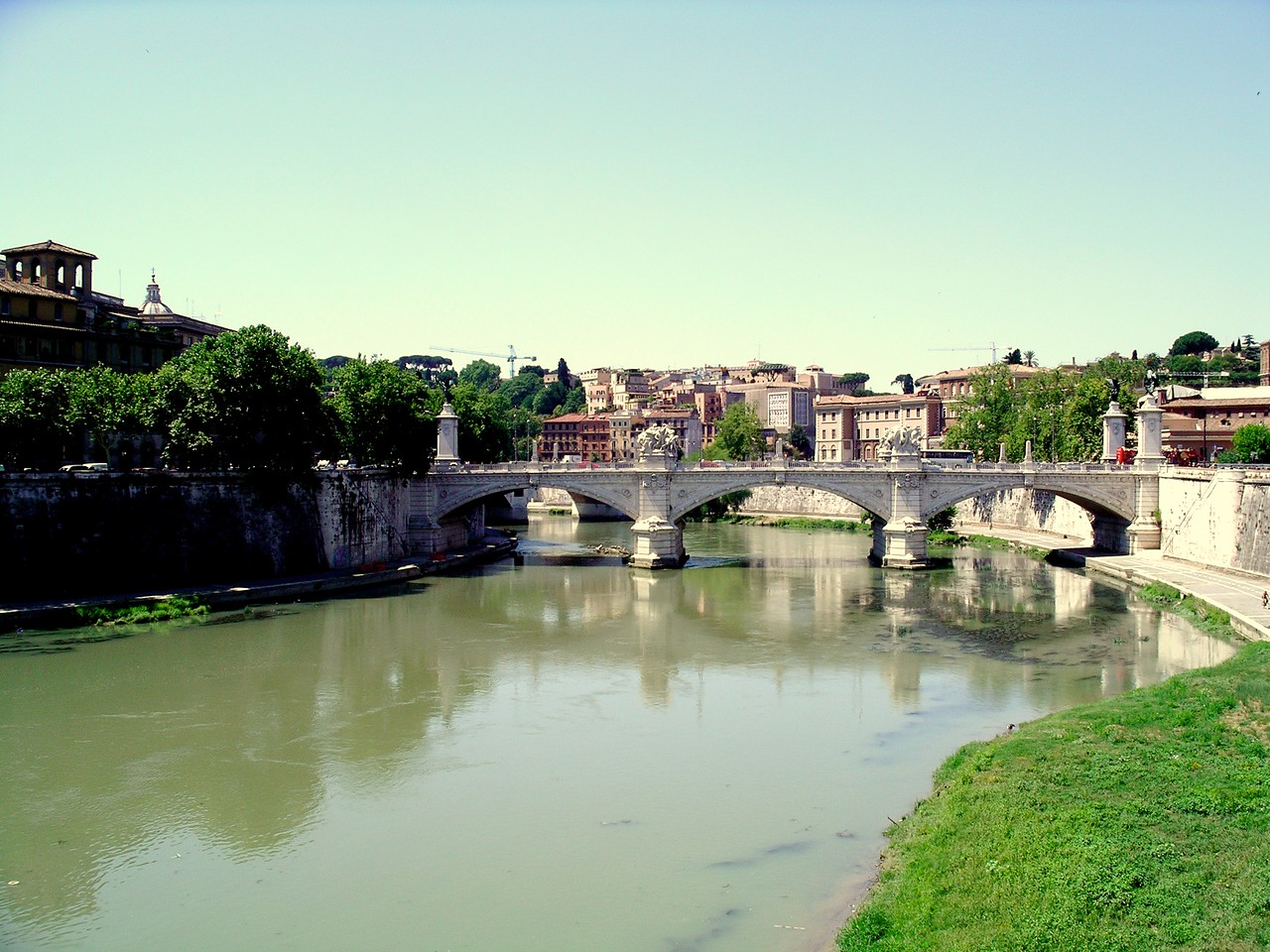 Bridges over the Tiber