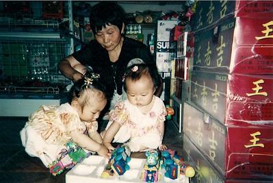 Kaara and Jillian with Jillian's foster mother