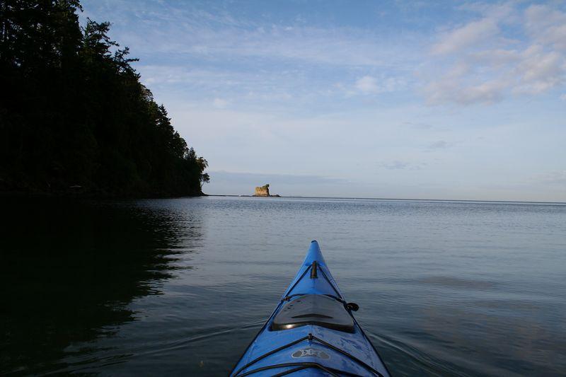 Kayaking in Freshwater Bay, WA