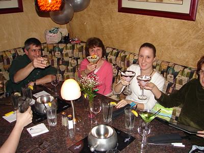 Lisa's 21st Birthday Dinner - 2005