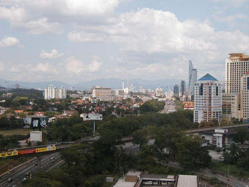 The View of KL from my room
