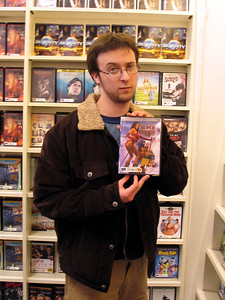 Adam Likes Blockbuster's Selection