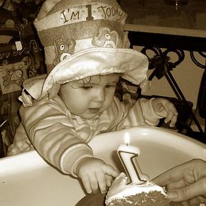 Miranda's 1st - Dec 27th - 2005