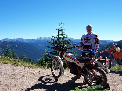 Mt. St. Helens Dual Sport camp & ride