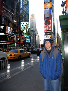kevin in times square