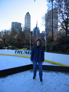 Wollman Rink, Kevin in all blue
