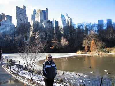 "central park ""the pond"""