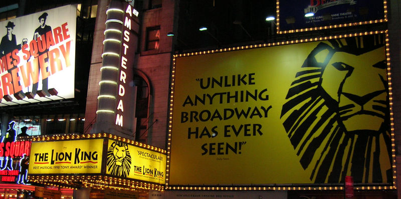 """Unlike anything broadway has ever seen!"""