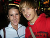 Me & JJ... Times Square... & oh is that a Starbucks behind us? Yeah we so just came from it.