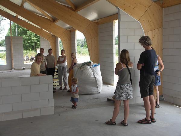 Nieuw clubgebouw 16 juli 2005